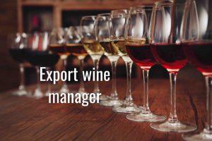 diventare export wine manager a bologna